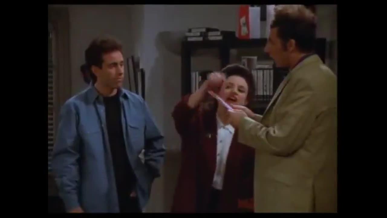 Seinfeld: Elaine Christmas Card