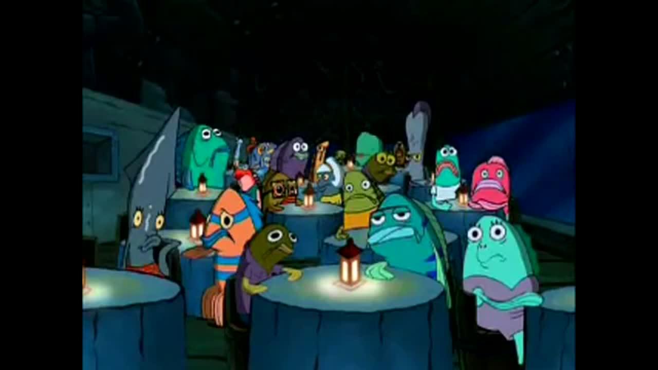 Spongebob Squarepants: Oh brother, this guy stinks!