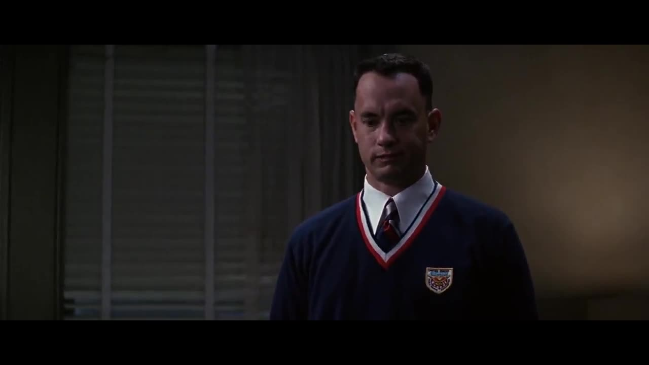 Forrest Gump: I'm sorry I ruined your New Year Eve party ...