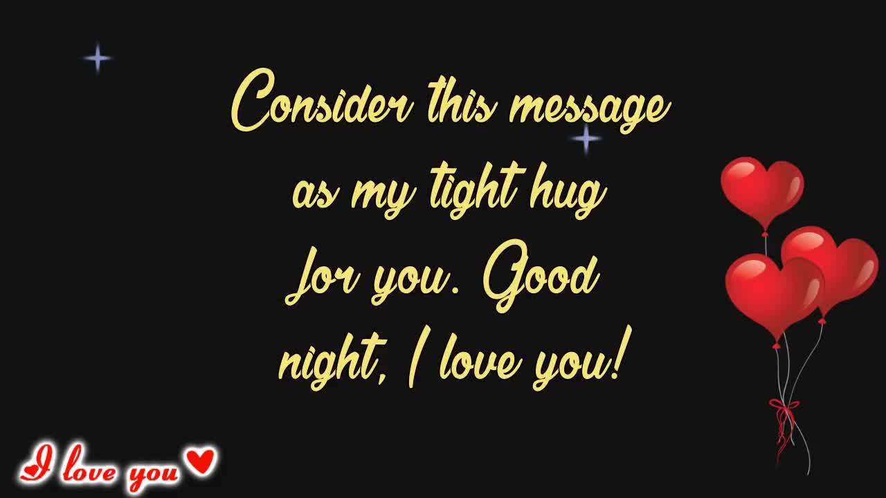 I Love You Good Night Love