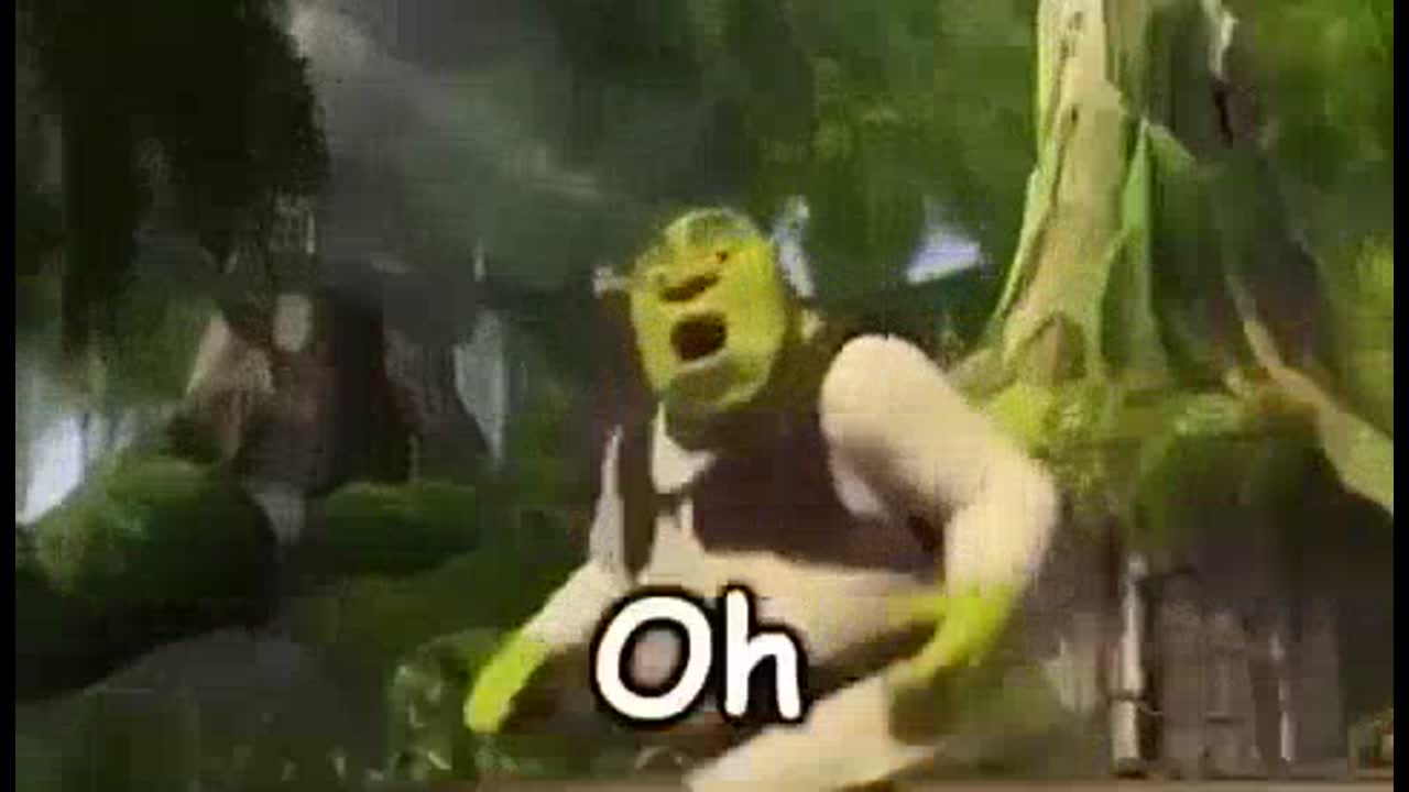 Shrek Meme Oh hello there