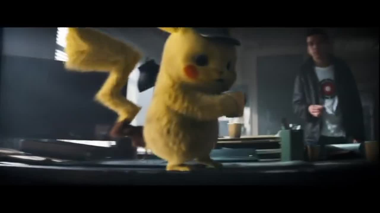 Pokemon Detective Pikachu Addicted To Caffeine