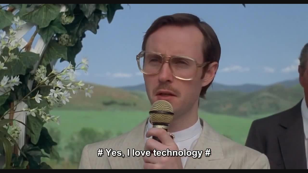 Napoleon Dynamite: Yes, I love technology